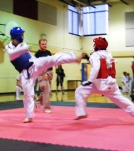 Andrew Kicking